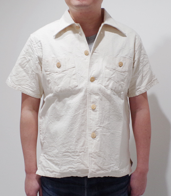 SUN SURF 9.25oz PINEAPPLE TWEED OPEN SHIRT