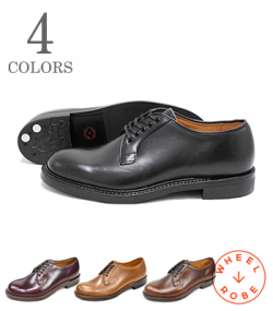 WHEEL ROBE PLAIN TOE BLUCHER