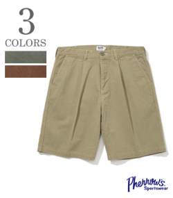 PHERROW'S CHINO SHORT PANTS