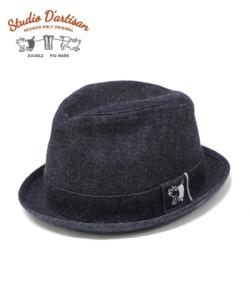 STUDIO D'ARTISAN Denim Hat