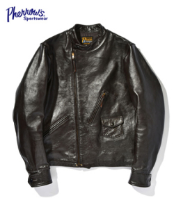 PHERROW'S LEATHER MOTORCYCLE JACKET