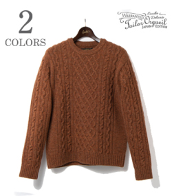 ORGUEIL Cable Knit Sweater