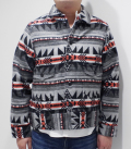 Dapper's Native Pattern Blanket A-1 Style Jacket