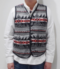Dapper's Native Pattern Blanket Vest