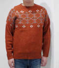 PHERROW'S SNOW PATTERN SWEATER