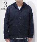 PHERROW'S U.S.NAVY WOOL SHAWL COLLAR JACKET