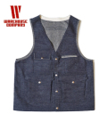 WAREHOUSE DENIM HUNTING VEST