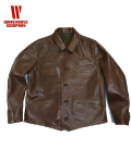 WAREHOUSE SHORT TYPE LEATHER CAR CORT