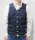 CUSHMAN 10oz. DENIM WORK VEST