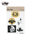 "Free Rage """"FATMAN"""" Sticker Sheet for Outdoor"