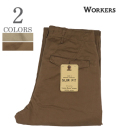 WORKERS Officer Trousers Slim Type 3