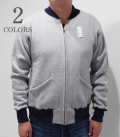 CUSHMAN ZIP SWEAT BLOUSON