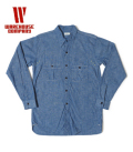 WAREHOUSE WESTERN YORK CHAMBRAY SHIRT