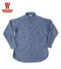WAREHOUSE CAST IRON CHAMBRAY SHIRTS