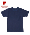 WAREHOUSE INDIGO POCKET TEE