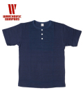 WAREHOUSE INDIGO HENLEY TEE