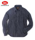UES インディゴストライプネルシャツ
