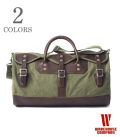 WAREHOUSE LEATHER&CANVAS BOSTON BAG