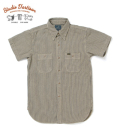 STUDIO D'ARTISAN RAILROAD HICKORY WORK SHIRT