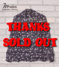 706union 50's|長袖シャツ|レーヨン|オープンカラーシャツ『UZUMAKI L/S OPEN SHIRT』【洋柄・アロハ】827