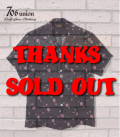 706union 50's|半袖シャツ|レーヨン|オープンカラーシャツ『SPIDER WEB S/S OPEN SHIRT』【洋柄・アロハ】832