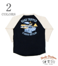 STUDIO D'ARTISAN  ROAD TRIPPER BASEBALL TEE