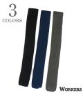 WORKERS Silk Knit Tie