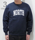 BARNS Sheep bore NORTH CREW NECK SWEAT
