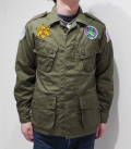 BUZZ RICKSON'S COAT,MAN'S, COMBAT TROPICAL PEACE PATCH
