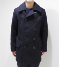 BUZZ RICKSON'S PEA COAT NAVAL CLOTHING FACTORY LONG MODEL