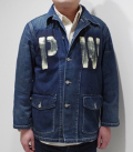 BUZZ RICKSON'S US ARMY DENIM WORKING JACKET PW