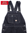 DRUM MAJOR BLUE DENIM OVERALL