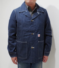 HEAD LIGHT 9.5oz. BLUE DENIM WW II WORK COAT