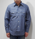 HEAD LIGHT 5oz. CHAMBRAY SHIRT