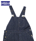 HEAD LIGHT 9.5oz. BLUE DENIM LOW BACK OVERALL