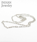 INDIAN JEWERY NAVAJO HAND MADE SILVER CHAIN