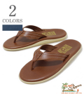 ISLAND SLIPPER LEATER SANDAL