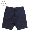 JAPAN BLUE Camouflage Denim Shorts