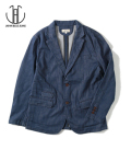 JAPAN BLUE SHIN-DENIM TAILORED JACKET