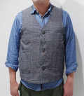 JAPAN BLUE Denim Tweed Hunting Vest