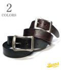 BARNS BRASS BUCKLE BELT