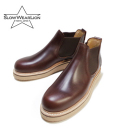 SLOW WEAE OILD LEATHER SIDE GORE BOOTS