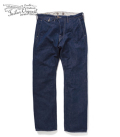 ORGUEIL Linen Denim Trousers