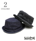 SUGAR CANE シュガーケーン 10oz DENIM PORKPIE HAT