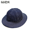 SUGAR CANE 9oz.WABASH STRIPE HAT