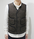 SUGAR CANE BEACH CLOTH VEST