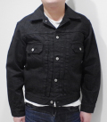 SUGAR CANE 13oz. BLACK DENIM JACKET 1953'MODEL