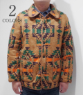 SUGAR CANE NATIVE AMERICAN BOA FLEECE JACQUARD JACKET