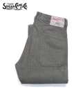 SUGAR CANE 11oz. COVERT STRIPE 8 POCKETS PANTS