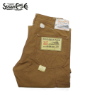 SUGAR CANE 13oz. BROWN DUCK WORK PANTS